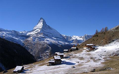 Findeln (d Wildi) mit Matterhorn