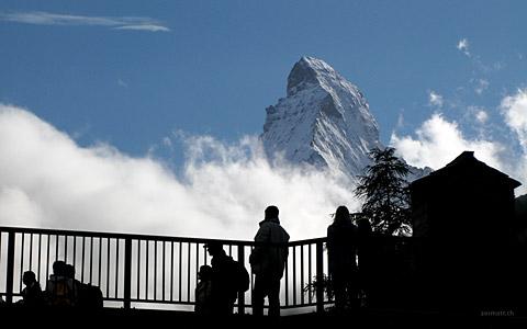 Kirchbrücke mit Matterhorn